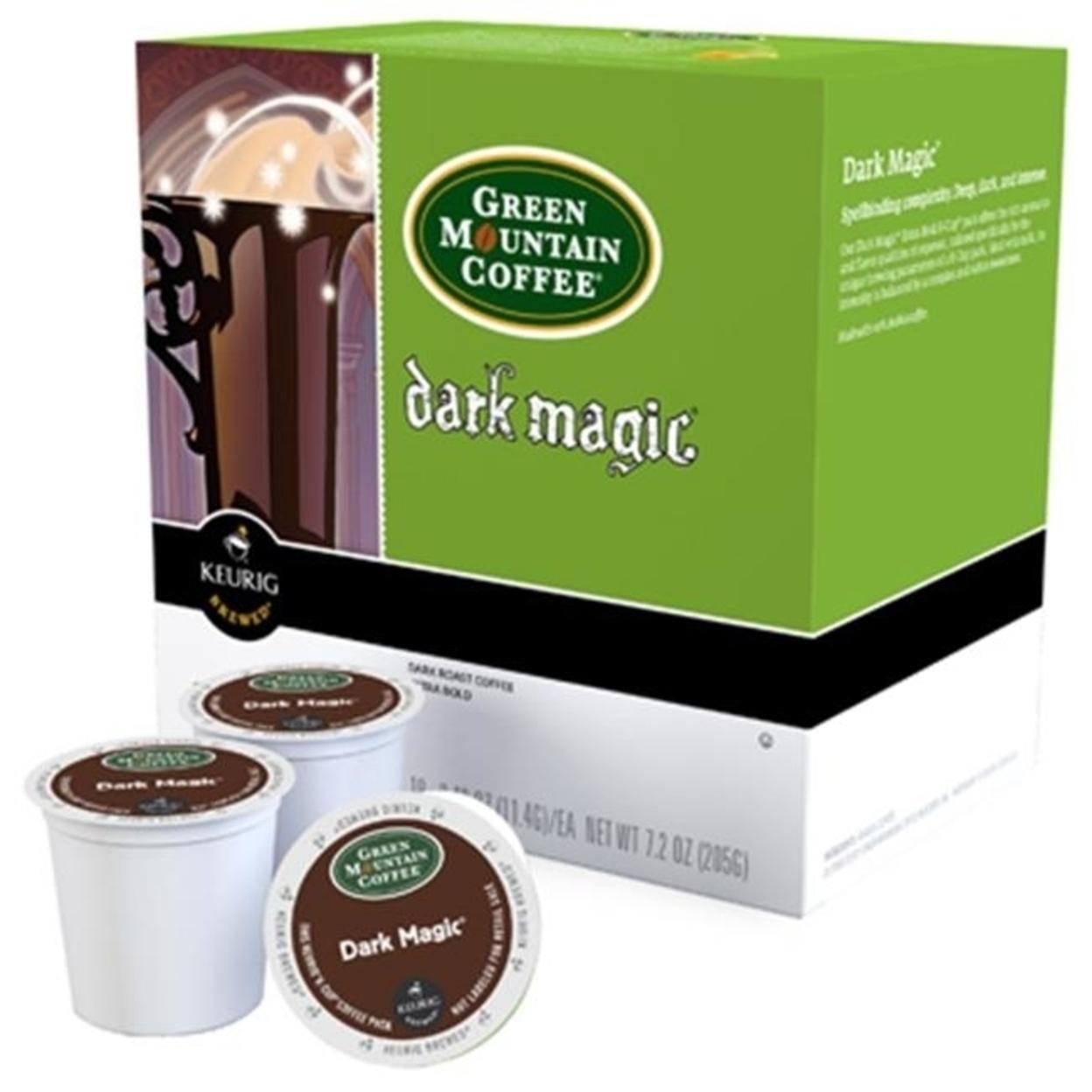 Keurig 108880 Green Mountain Dark Magic Extra Bold Single Serve K-Cup 18 Count 5a3d229fe22461781a644a21