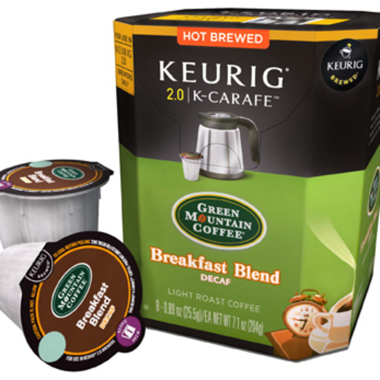 Keurig 114689 8 Count Breakfast Decaf Carafe 5a3c80222a00e46aee173c87
