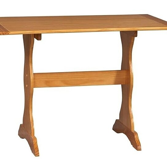 Buy Linon Home Decor 90368n2 01 Kd U Chelsea Table Natural By Unbeatablesale Inc On Pickperfect