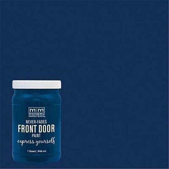 Serene Front Door Paint By Modern Masters