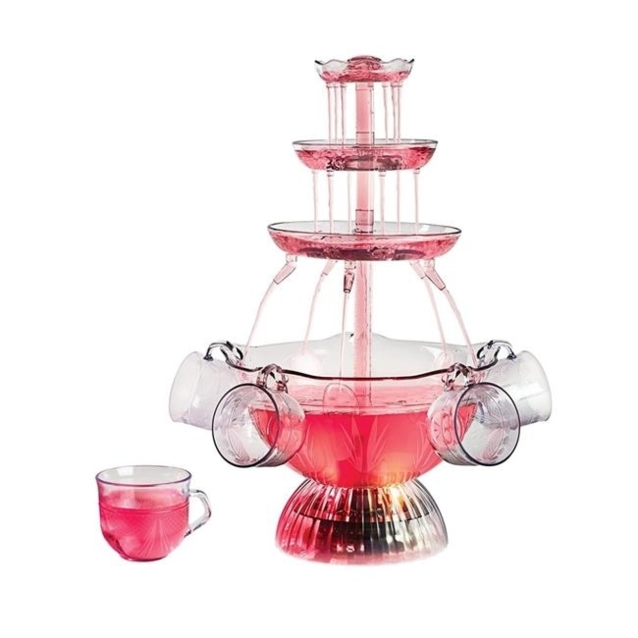 Nostalgia Lpf150 Vintage Collection Lighted Party Fountain 59f0e14e2a00e41b99736d24