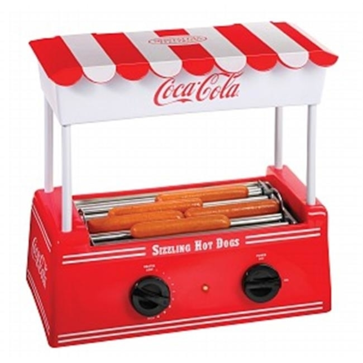Nostalgia Products Group Hdr565Coke Coca-Cola Series Hot Dog Roller 596d34df2a00e4022c30ec15