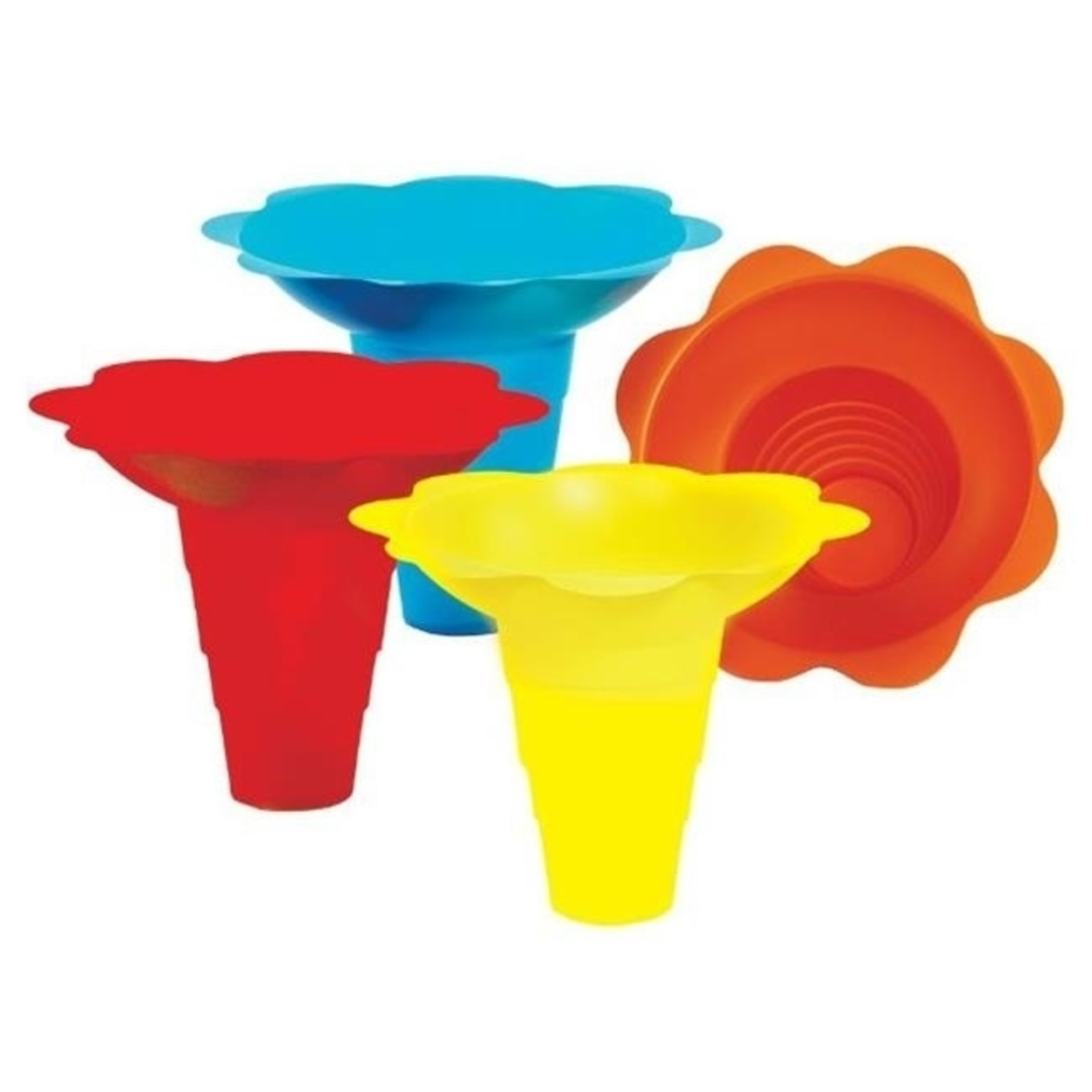 Paragon - Manufactured Fun 6504 Large Flower Drip Tray Cups - Multicolor 596e282d2a00e479d1303fc5