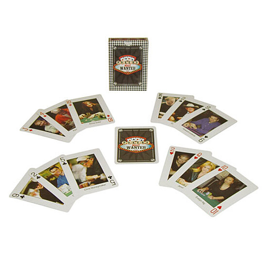 Most wanted poker cards