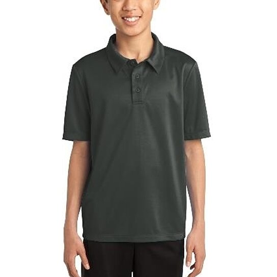 Buy port authority y540 youth silk touch performance polo for Youth performance polo shirts