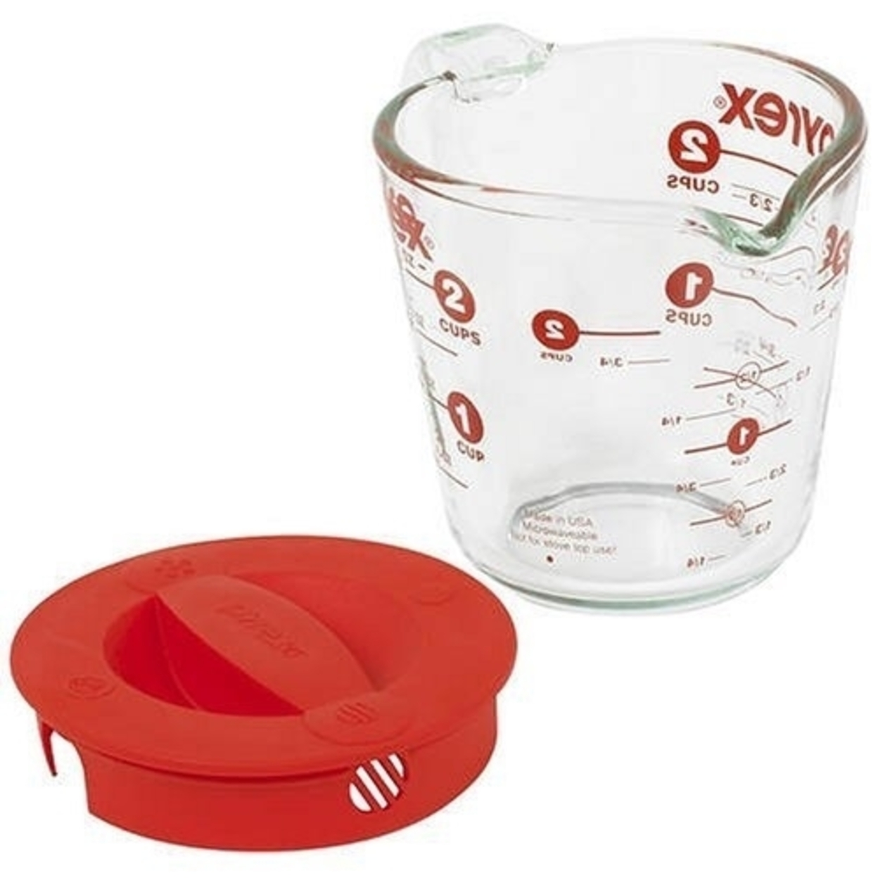 Pyrex 1055163 2-Cup Measuring Cup with Lid 596e2a442a00e4090450caa2