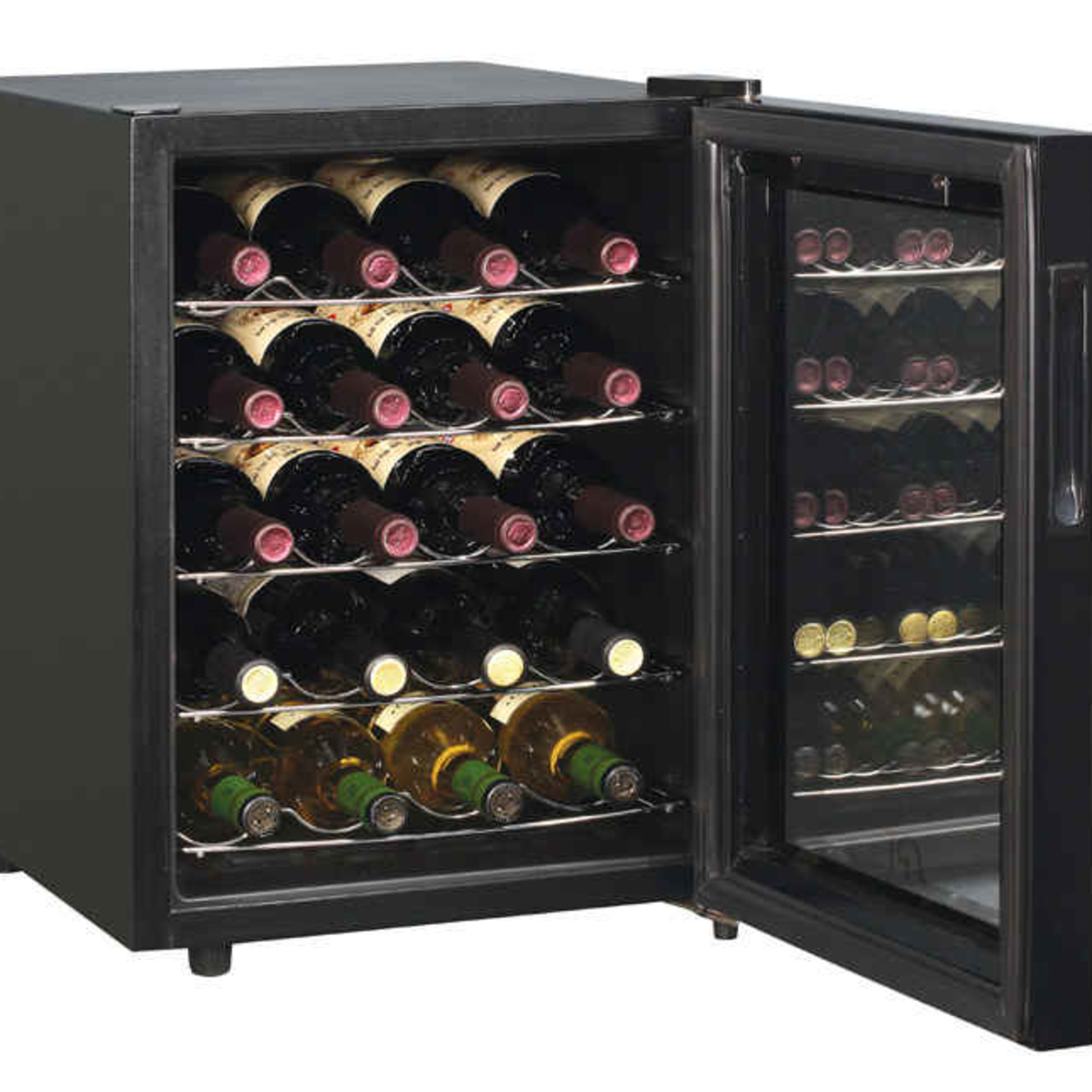 Sunpentown Wc-20Tl 20-Bottle ThermoElectric Wine Chiller with Touch-Senstive Controls