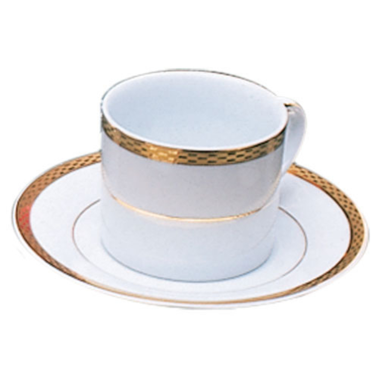 Ten Strawberry Street Athens Gold Cup-Saucer- Set of 6 59f229622a00e408bf34b19b