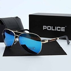 74ddbb9d6b39 2017 New Design Hot Sale POLICE Polarized Fashion Sunglasses Cool Men s  Outdoor Sports Metal Frame Sunglasses