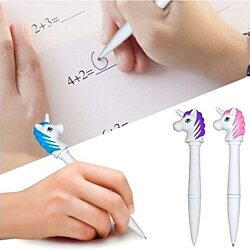 GlobalTop Unicorn Torch Pen Teens Children Child Kids Number One Gift Novelty Present