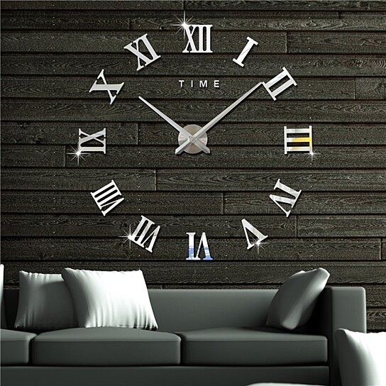 5162fbf5c to cart 99 times in the last 24 hours. Modern 3D Frameless Wall Clock Style Watches  Hours DIY Room Home Decorations Model