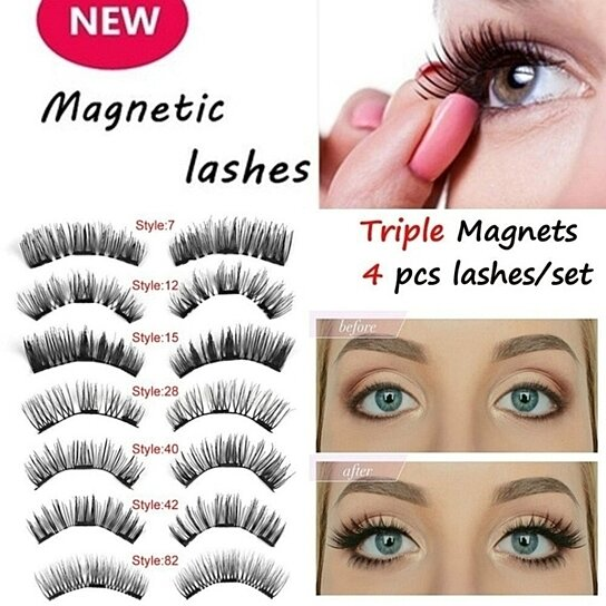 1d8bb037546 Trending product! This item has been added to cart 36 times in the last 24  hours. New 3D Magnetic False Eyelashes ...