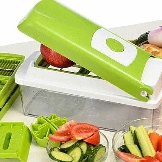 Super Slicer Plus Vegetable Fruit Nicer Peeler Dicer Cutter Chopper Grate Grater