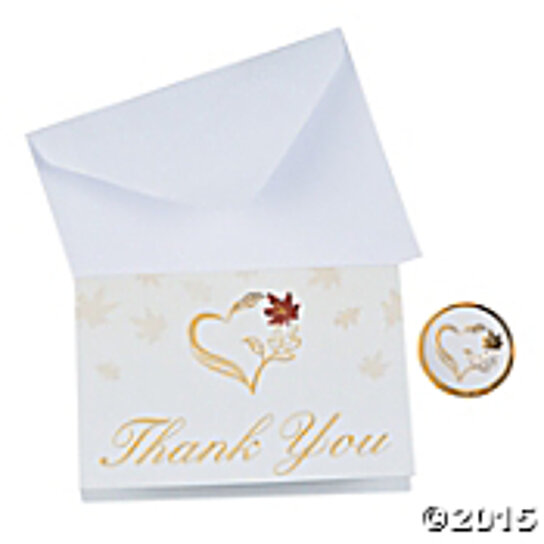 Wedding Gift Thank You Cards Pack : generous.jpg