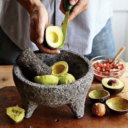 Buy Hand Carved Granite Molcajete Mortar And Pestle 8 5