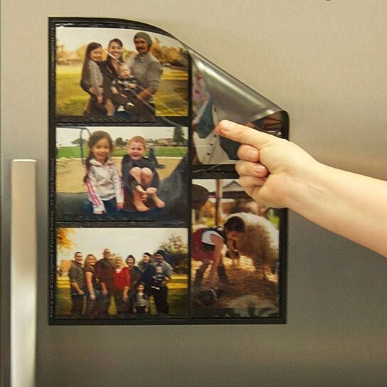 Buy magnetic picture collage frame for refrigerator 2 for Design home gift paper inc