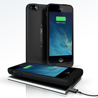 Wireless Charging Battery Case and Mat for iPhone 5S / 5