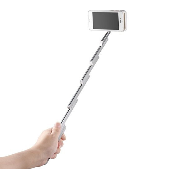 buy iphone 6 6s plus selfie stick phone case with with one remote control by unlimited styles. Black Bedroom Furniture Sets. Home Design Ideas