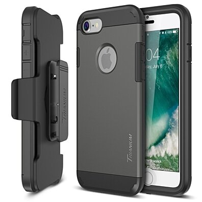 iPhone 7 Case, Heavy Duty Ultra Protective Cases Holster Belt Clip Kickstand