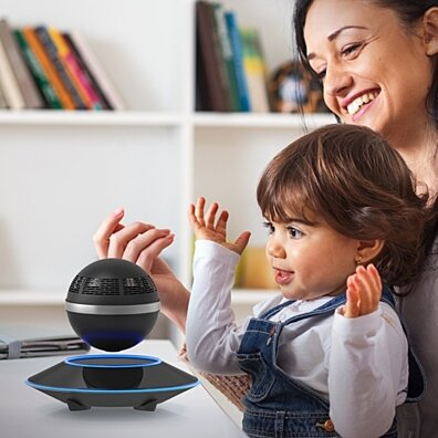 Portable Levitating Bluetooth LED Speaker