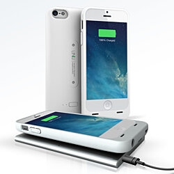 iPhone 5S/5  Wireless Charging Battery Case 1 Year Warranty