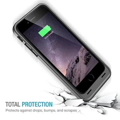 Protective iPhone 6 Battery Case ( 4.7 Inches)