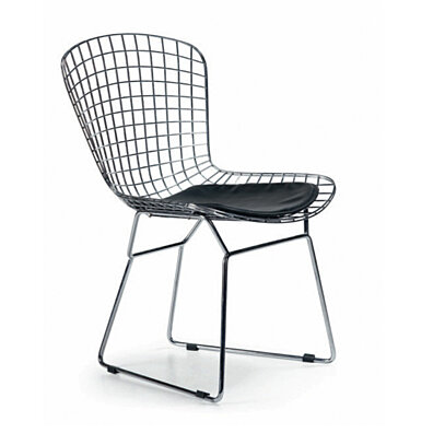 Chrome Cafe Chair - Set of 2