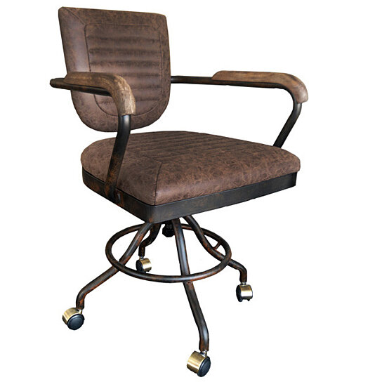Buy Vintage Style Office Chair By New Life Office   Urban 9 5 On Dot U0026 Bo