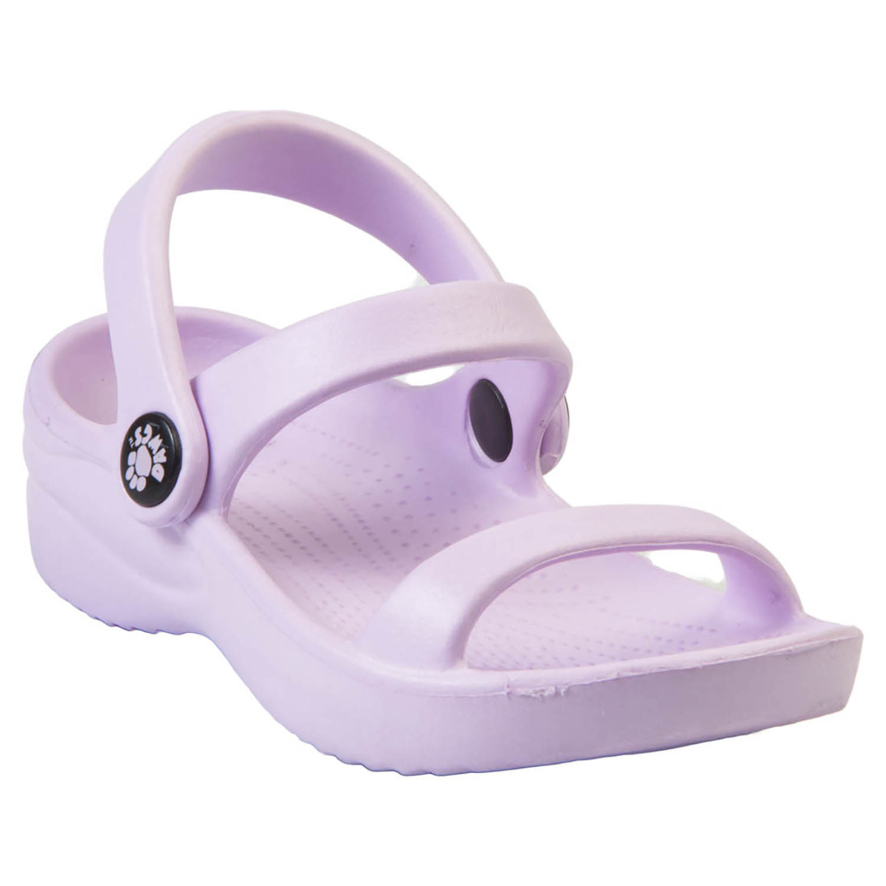 Kids Dawgs 3-strap Sandals - Lilac - 11