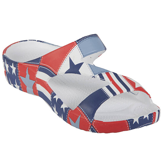 13a0cc42537e Buy Kids  Loudmouth Z Sandals - Betsy Ross by USA Dawgs Tate on OpenSky