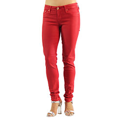 Dylan George Runaway Womens Colored Stretch Red Jeans