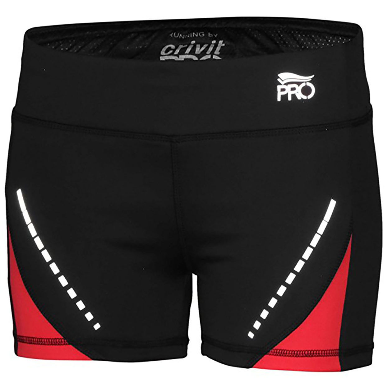 Women's Performance Active Running Shorts Black Red Ian274154 - S 58f92f3940f76c07c053b8e3