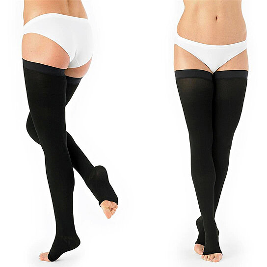 d41826538d6 Buy Newest Thigh High Compression Slim and Shape Stockings by Vabene Store  on OpenSky