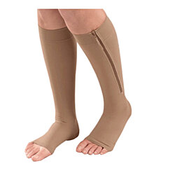 Zip Up Compression Socks 2 pairs