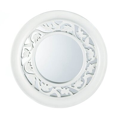 WHITE IVY WALL MIRROR