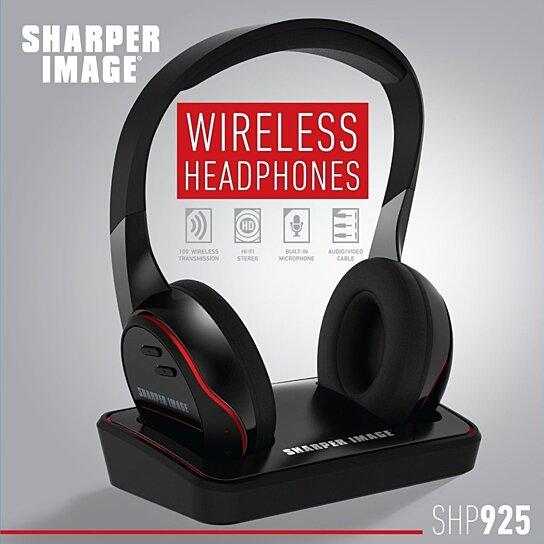 Buy Sharper Image Wireless Headphone By Vertigo On Opensky