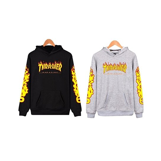 Buy Men s hoodie Thrasher Women Sweatshirts by Vigour Home on OpenSky f8b8ed6966