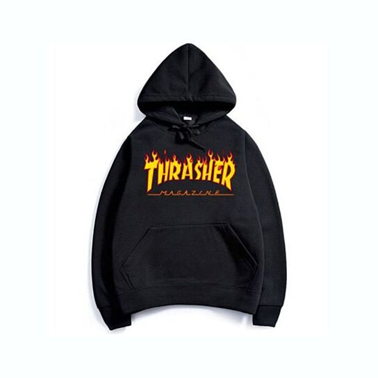 Buy Fashion Men s hoodie sweaters Hip-hop skateboard Thrasher Women  Sweatshirts by Vigour Home on OpenSky 03b027fdd5