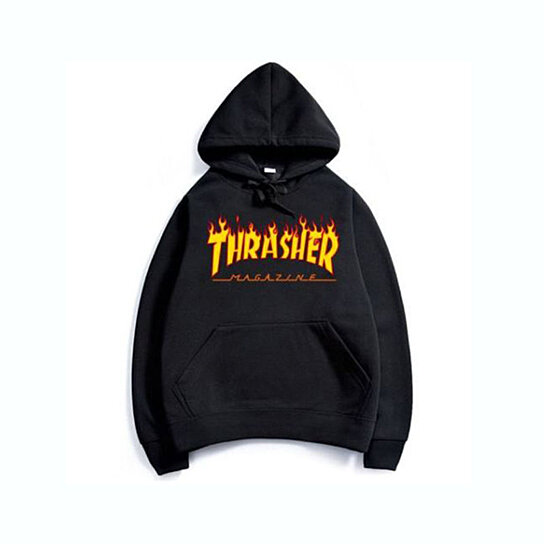 6b2df03c565b Trending product! This item has been added to cart 60 times in the last 24  hours. Fashion Men s hoodie sweaters Hip-hop skateboard Thrasher ...