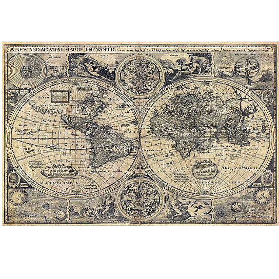 Buy giant historic old world map 1626 old antique restoration buy giant historic old world map 1626 old antique restoration hardware style world map fine art print world map wall decor house warming gift by vintage gumiabroncs Images