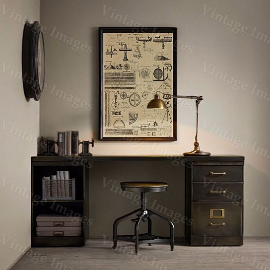 Https Www Opensky Com Vintageimagery Product Historic Surveyor Surveying Patent Style Navgating Instrument Tools Restoration Hardware Style Print Patent Art Office Wall Art Home Decor Configurationid 56d1fdef8e3d6ffe458b4c71max Discount 1