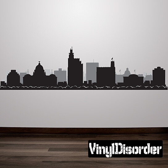 Buy Jackson Mississippi Skyline Vinyl Wall Decal Or Car