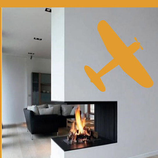 Buy plane toy airplane transportation vinyl wall decal for Airplane wall mural