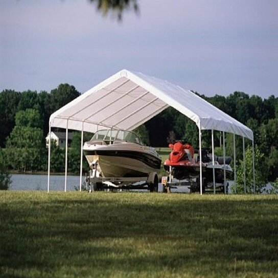 Buy 18x40 canopy 2 14 leg frame white cover fr rated for 18x40 frame