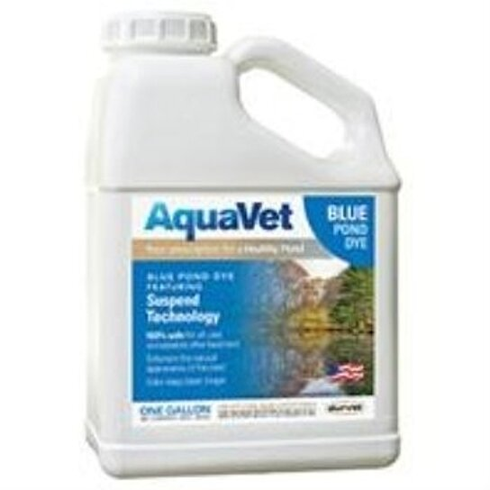 Buy aquavet blue pond dye with suspend technology by for Blue pond dye