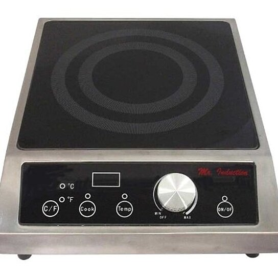 Buy 3400w Countertop Commercial Range (208-240v) by VirVentures on ...