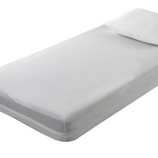 Buy 6 Gauge Vinyl Zippered Twin Extra Long Size Mattress Cover 9 Inch Deep By Virventures On