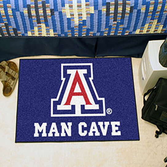 Man Cave Rugs : Buy arizona man cave starter rug quot x by virventures on