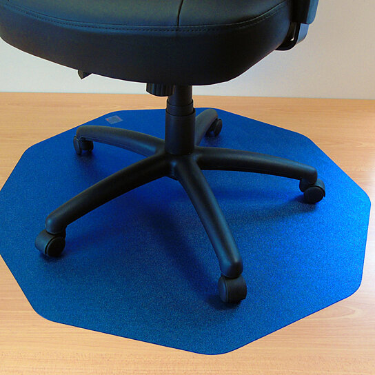 Buy Cleartex 9mat Ultimat Polycarbonate Chairmat For Hard Floor In Cobalt Blue 38 X 39 By