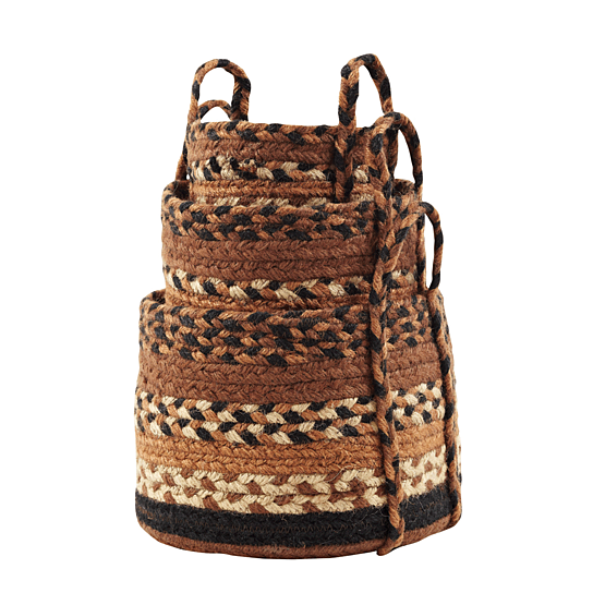 Buy harvest time jute baskets sm 9x7 7x5 by for Bathroom 9x7